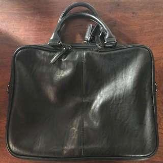 Men's PU Leather Tote/Briefcase/Laptop Bag from HK