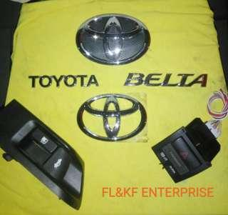 Toyota belta/yaris/vios ncp93 emblem