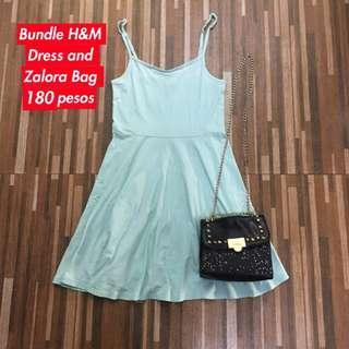 H&M Dress Zalora Bag Bundle