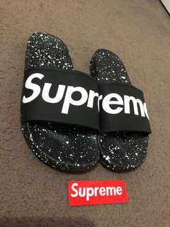 Custom Made Supreme Galaxy Slides