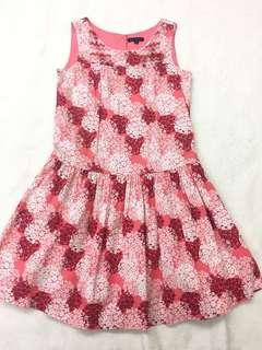Periwinkle red dress size 8