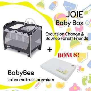 Joie baby box sewa @babyelrent