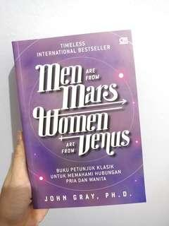 Men Are From Mars, Woman Are From Venus