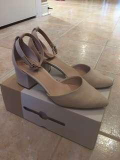 Blush/nude sandals