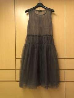 🚚 內搭 連身紗裙