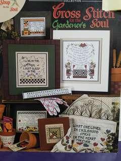Stoney Creek Cross Stitch Chart Book☆For the Gardener's Soul