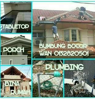 Wan kajang  plumbing and Bumbung Bocor 0132820501