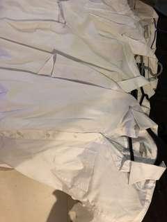 White short sleeves polo