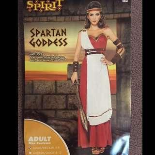 Halloween Spartan Goddess costume (S/M) #Carouween