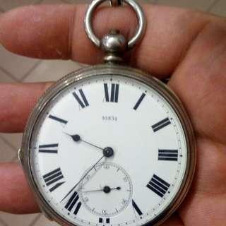 1880年英國銀殼陀錶 40834