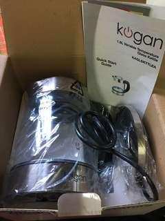 KOGAN 1.8L Variable Temperature Glass Kettle