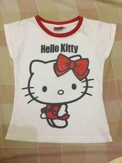 Hello kitty tshirt kids