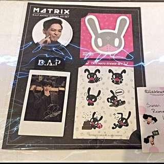 BAP Himchan Official Matrix Pack