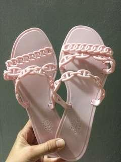 HERMES JELLY SHOES