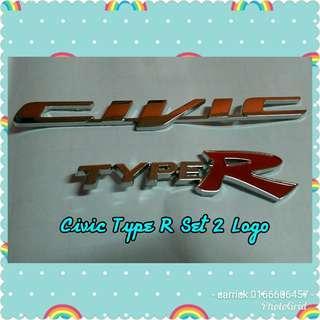 Civic type r 2 logo