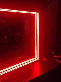 Mirror signage