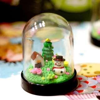 🚚 Handmade Christmas Gift- Snowman in the Bell