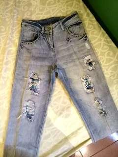 Ripped Highwaist Jeans
