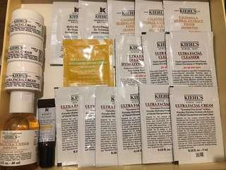 Kiehl's samples x 21pcs