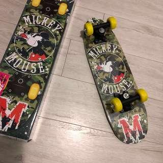 Disney Mickey SkateBoard 米奇迷彩滑板