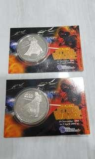 Star Wars Darth Vader Coin (Year of the Dog 2006)