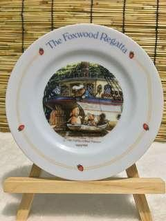 The Foxwood Regatta Ceramic Deco Plate / Cake plate