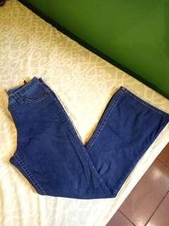 Navy Blue Highwaist Jeans