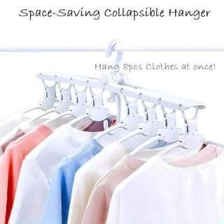 Space-Savings Collapsible Hanger