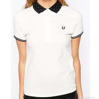 [Reduced] Fred Perry Twin Tipped Polka Polo Shirt
