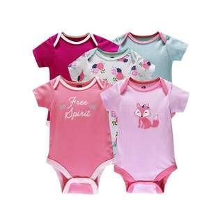 🚚 5 pcs Baby Rompers