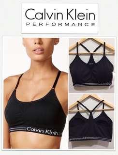 Calvin Klein Performance Wick Black Sports Bra
