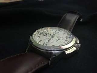 Jam tangan guess (leather/kulit)