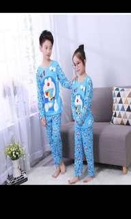 Doraemon Long Sleeveless Thin Pyjamas
