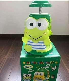 sanrio keroppi 青蛙仔 刨冰機