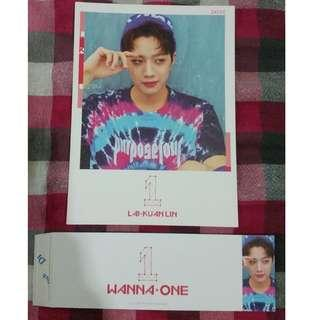 Wanna One Lai Kuan Lin (KuanLin) - To Be One Pink ver. Cover + Sleeves