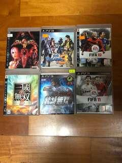 PS3 Game $300 for 6