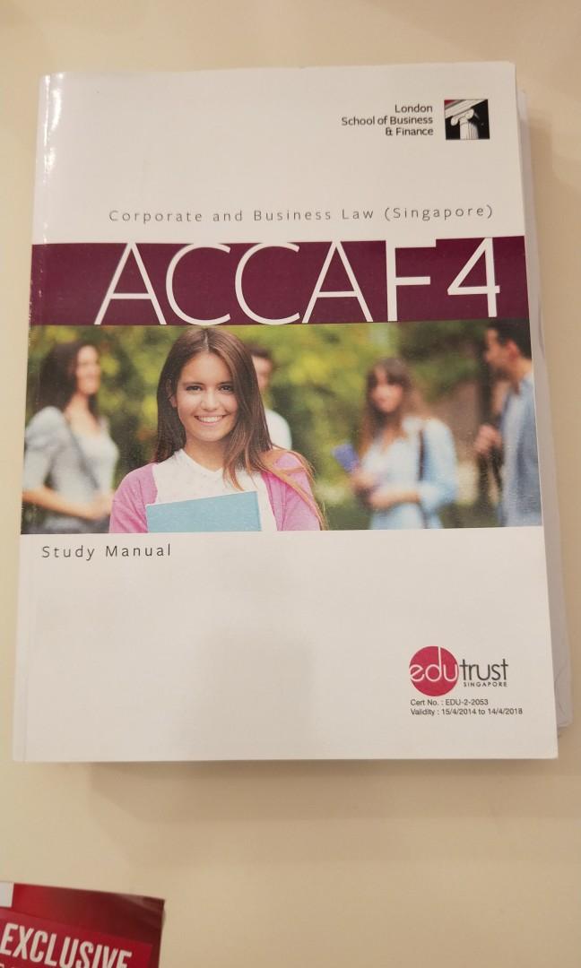 acca f4 book pdf