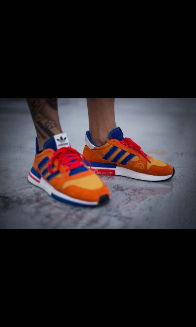 huge selection of 25b1c 4f03e Adidas Dragonball Z Goku ZX 500 RM, Mens Fashion, Footwear, Sneakers on  Carousell