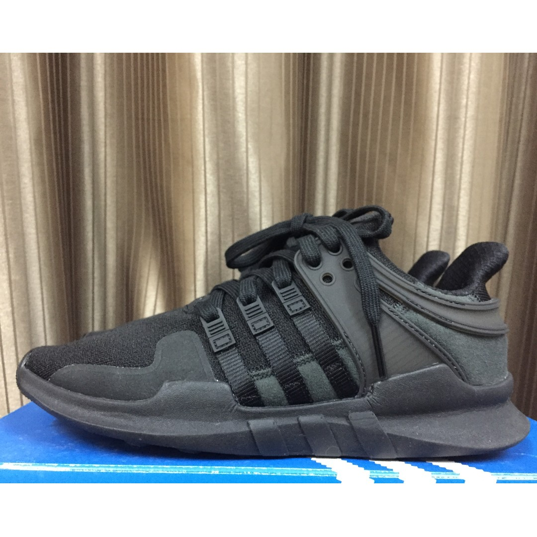 reputable site 9d657 2c84e Adidas EQT Support ADV (triple black)