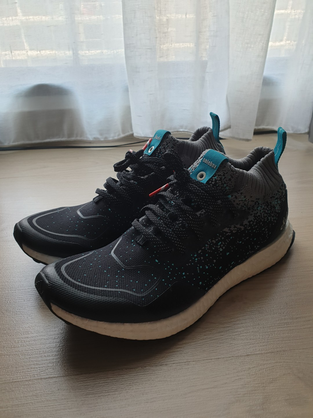 f3f780d9b Adidas Ultra Boost Mid Packer x Solebox