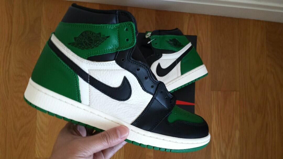 028db657905f Air Jordan 1 Pine Green Size US9