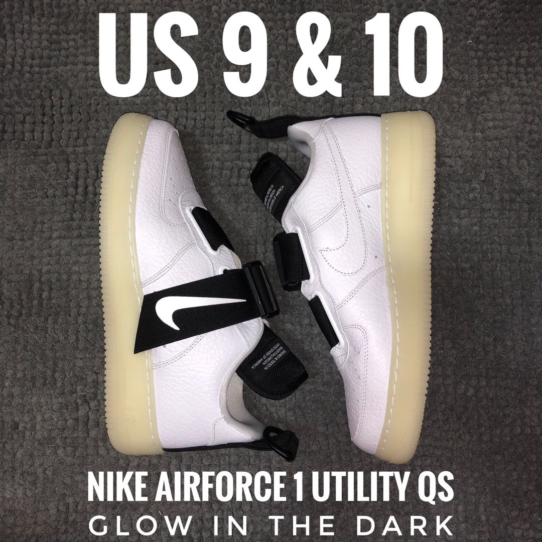 233bb55d2a Airforce 1 Utility QS, Men's Fashion, Footwear, Sneakers on Carousell