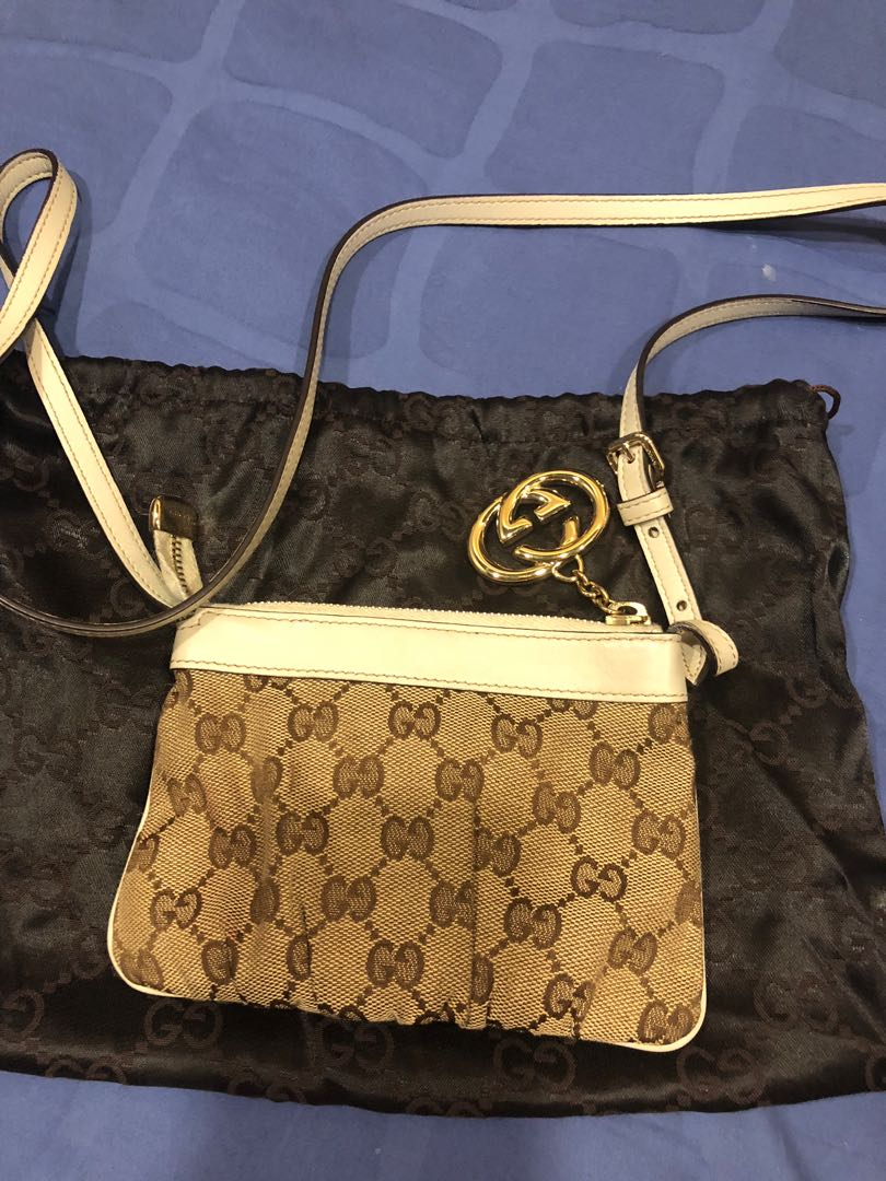 bff9b12dd096 Authentic Gucci sling pouch, Women's Fashion, Bags & Wallets, Sling ...