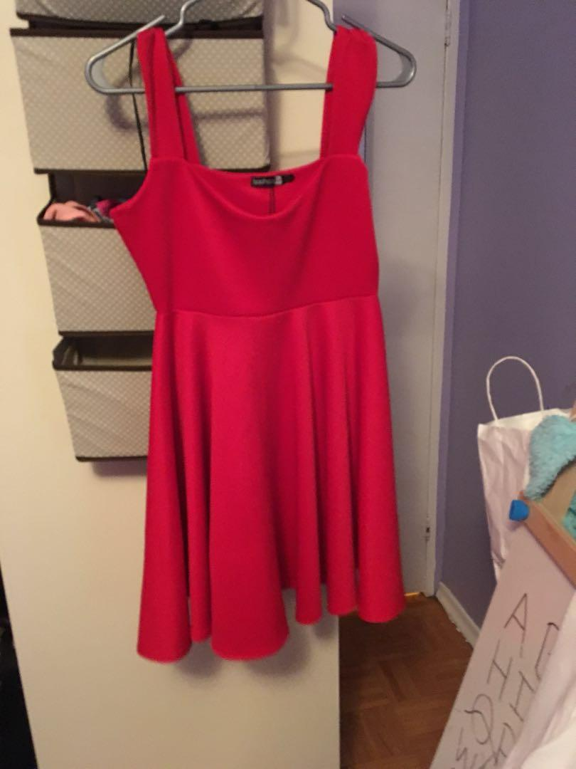 Brand new with tags beautiful red dress