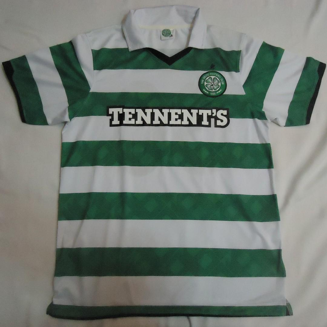 sale retailer 8c036 cd5cb Celtic FC Football Soccer Jersey on Carousell