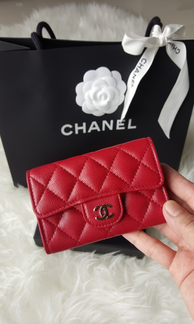 f1b71626f71c Chanel 18B Card Holder, Luxury, Bags & Wallets, Wallets on Carousell