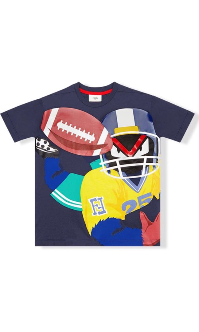 ea78081f5e0f9 Fendi kids t shirt