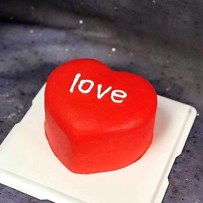 Heart Cakelover Cake Food Drinks Baked Goods On Carousell