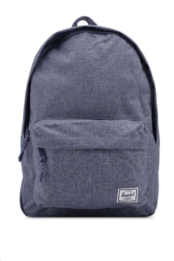 4e470020834 Herschel Classic Dark Chambray Backpack