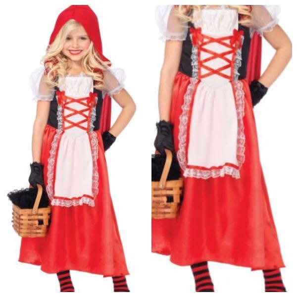 IN STOCK Red riding hood costume kids costume children\u0027s day